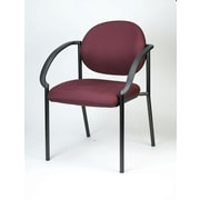 Eurotech Seating Dakota Stacking Chair; Burgundy