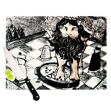 KESS InHouse King Leo Cutting Board; 8.25'' H x 11.5'' W x 0.25'' D