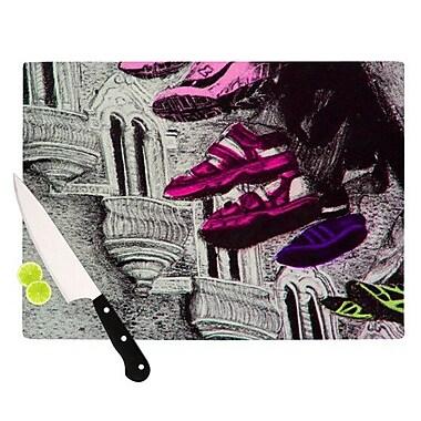 KESS InHouse Shoes in SF Cutting Board; 8.25'' H x 11.5'' W x 0.25'' D
