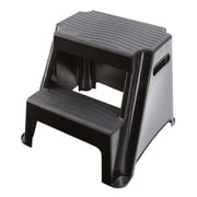 Rubbermaid 2-Step Plastic Molded Step Stool with 300 lb. Load Capacity