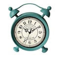 Cheungs Table Clock; Baby Blue