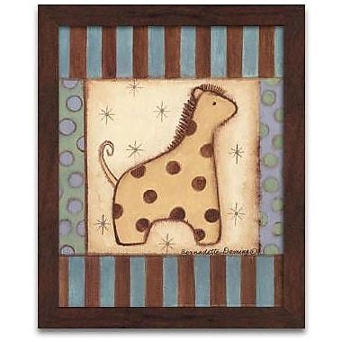 Timeless Frames Baby Giraffe Framed Painting Print