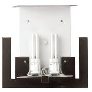 Philips Consumer Luminaire Bow A La Carte 2 Light Wall Sconce; Merlot Bronze