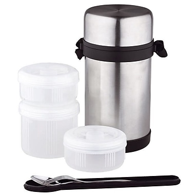 Longden 7-Piece 52 Oz. Food Flask Set