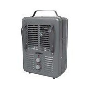 Optimus Portable Electric Convection Utility Heater with Thermostat