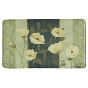 Bacova Guild Standsoft Midnight Poppies Vintage Doormat