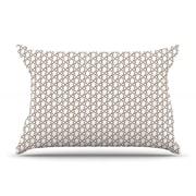 KESS InHouse Hexy Small Pillow Case; Standard