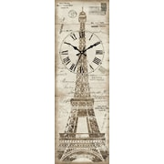Ashton Sutton Eiffel Tower Wall Clock