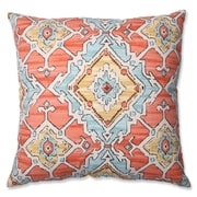 Pillow Perfect Sundance Tangerine Cotton Throw Pillow; 24.5'' H x 24.5'' W x 5'' D