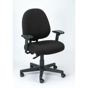 Eurotech Seating Cypher Ratchet Back Office Chair; Black