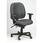 Eurotech Seating 4x4 Chair with Arms; Charcoal