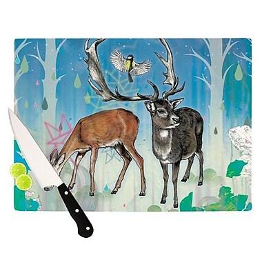 KESS InHouse Glade Cutting Board; 11.5'' H x 15.75'' W x 0.15'' D