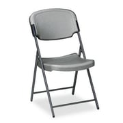 Iceberg Enterprises Folding Chair; Charcoal