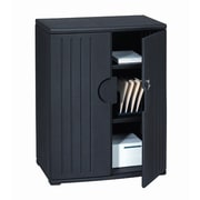 Iceberg Enterprises OfficeWorks 46'' Storage Cabinet; Black