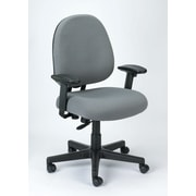 Eurotech Seating Cypher Ratchet Back Office Chair; Gray