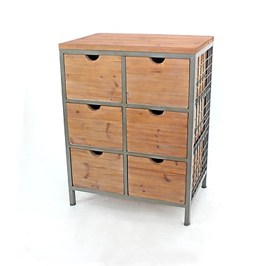 Teton Home Metal Cabinet