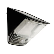 Maxsa Solar Powered Motion-Activated Wedge Light; Black