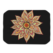 KESS InHouse Placemat; Black