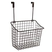 Spectrum Diversified Large Over the Cabinet Door Grid Basket; Venetian Bronze PC