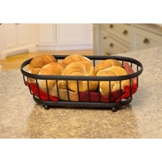 Spectrum Diversified Ashley Bread Basket; Black