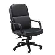 Mayline Mid-Back Leather Executive Office Chair