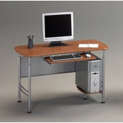 Mayline Santos Computer Desk; Medium Cherry