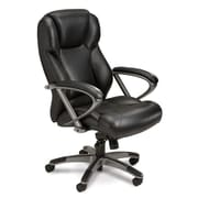 Mayline Series 300 High-Back Office Chair; Black
