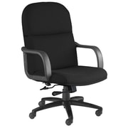 Mayline Mid-Back Executive Office Chair; Black