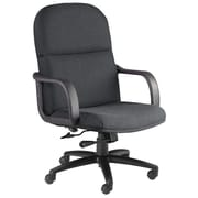 Mayline Mid-Back Executive Office Chair; Gray / Charcoal