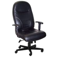 Mayline High-Back Leather Executive Office Chair