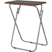 Home Basics Folding TV Table; Cherry