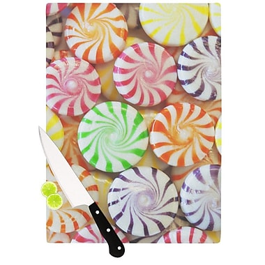KESS InHouse I Want Candy Cutting Board; 11.5'' H x 15.75'' W x 0.15'' D
