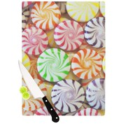 KESS InHouse I Want Candy Cutting Board; 11.5'' H x 15.75'' W x 0.15'' D
