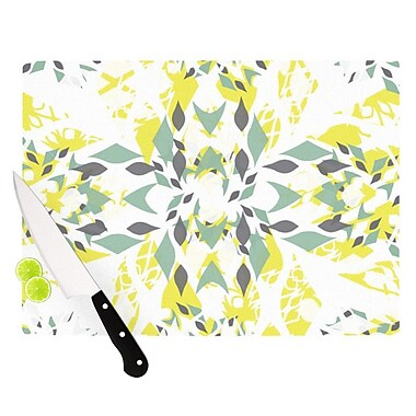 KESS InHouse Springtide Cutting Board; 11.5'' H x 15.75'' W x 0.15'' D