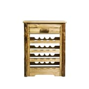 Montana Woodworks  Glacier Country 16 Bottle Wine Cabinet