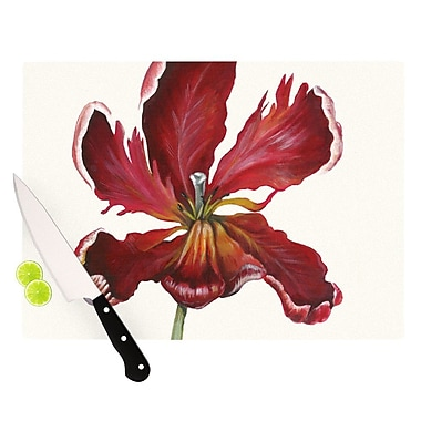 KESS InHouse Open Tulip Cutting Board; 11.5'' H x 15.75'' W x 0.15'' D
