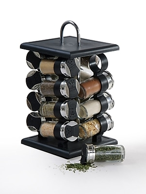 Longden 16 Piece Jar Spice Rack Set