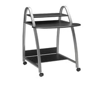 Mayline Mobile Arch 31.5'' W x 28.5'' D Computer Desk; Anthracite