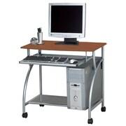 Mayline Argo PC Workstation Computer Table; Medium Cherry