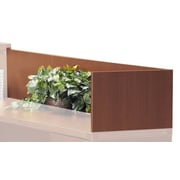 Mayline Aberdeen Series 14'' H x 48'' W Reception Desk Return; Cherry