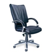 Mayline High-Back Leather President Office Chair