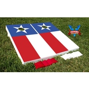 Victory Tailgate Texas Flag Themed Cornhole Bean Bag Toss Game