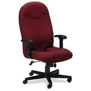 Mayline High-Back Executive Office Chair; Burgundy