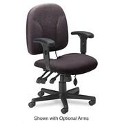 Mayline High-Back Executive Office Chair; Blue