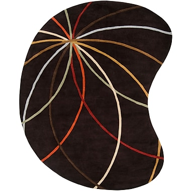 Surya Forum FM7141-810KDNY Hand Tufted Rug, 8' x 10' Kidney