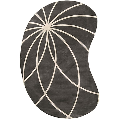 Surya Forum FM7173-69KDNY Hand Tufted Rug, 6' x 9' Kidney