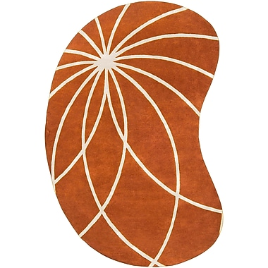 Surya Forum FM7175-69KDNY Hand Tufted Rug, 6' x 9' Kidney