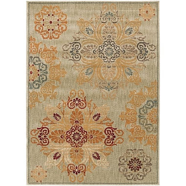 Surya Arabesque ABS3000-710910 Machine Made Rug, 7'10