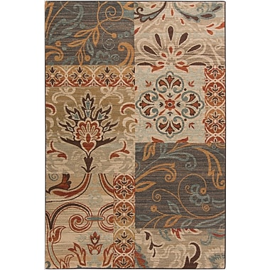 Surya Arabesque ABS3026-110211 Machine Made Rug, 1'10