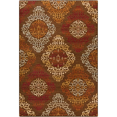 Surya Arabesque ABS3028-110211 Machine Made Rug, 1'10